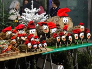 Parada de Tions de Nadal a la Fira de Santa Llúcia