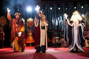 Rebuda dels Reis d'Orient a Esplugues