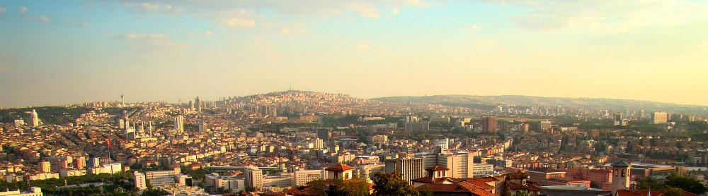 Panoràmica d'Ankara