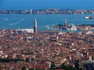 Vista aèria de Venècia