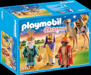 Caixa dels Reis Mags de Playmobil