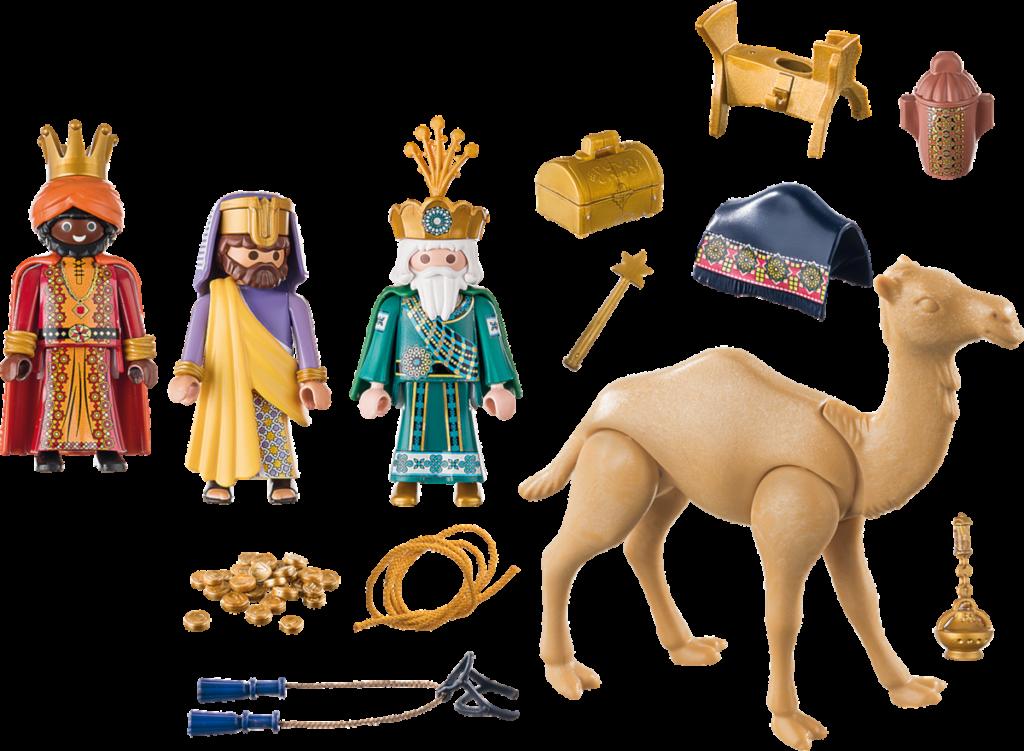 Peces incloses al Playmobil dels Reis d'Orient