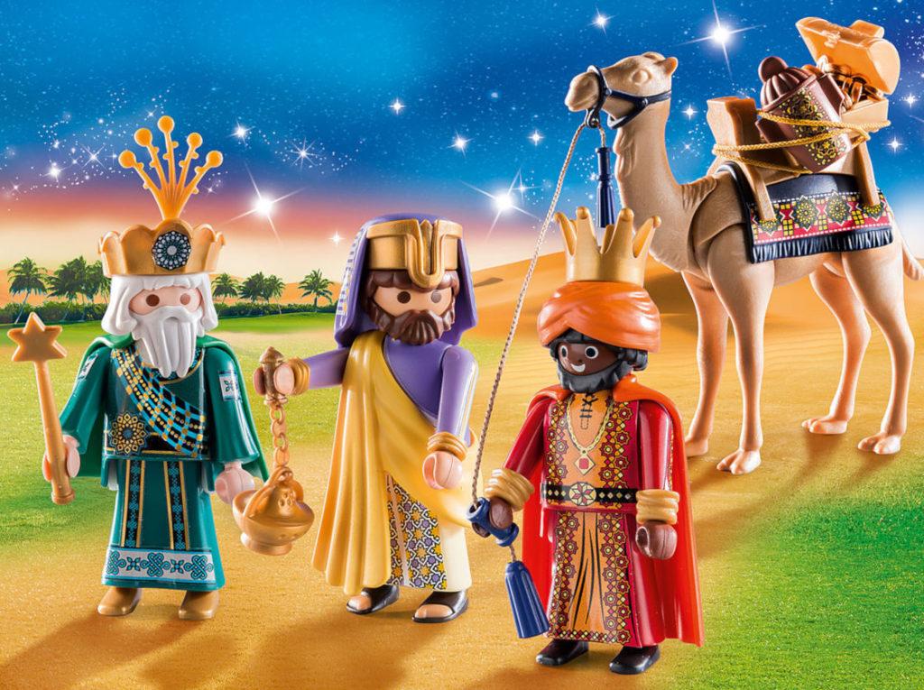 Escena dels Reis Mags de Playmobil