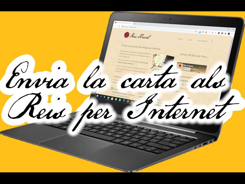 Envia la carta als Reis per Internet