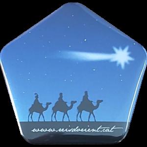 Xapa dels Reis seguint l'estrella